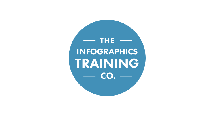 infographics training co logo design